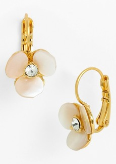 kate spade new york 'disco pansy' drop earrings
