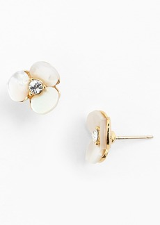 kate spade new york 'disco pansy' stud earrings