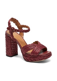 kate spade new york disco raffia sandal (Women)