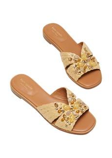 kate spade new york dock crystal slide sandal (Women)