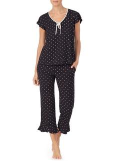 kate spade new york doodle dot crpp pajamas