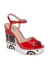 kate spade new york dora wedge sandal (Women)