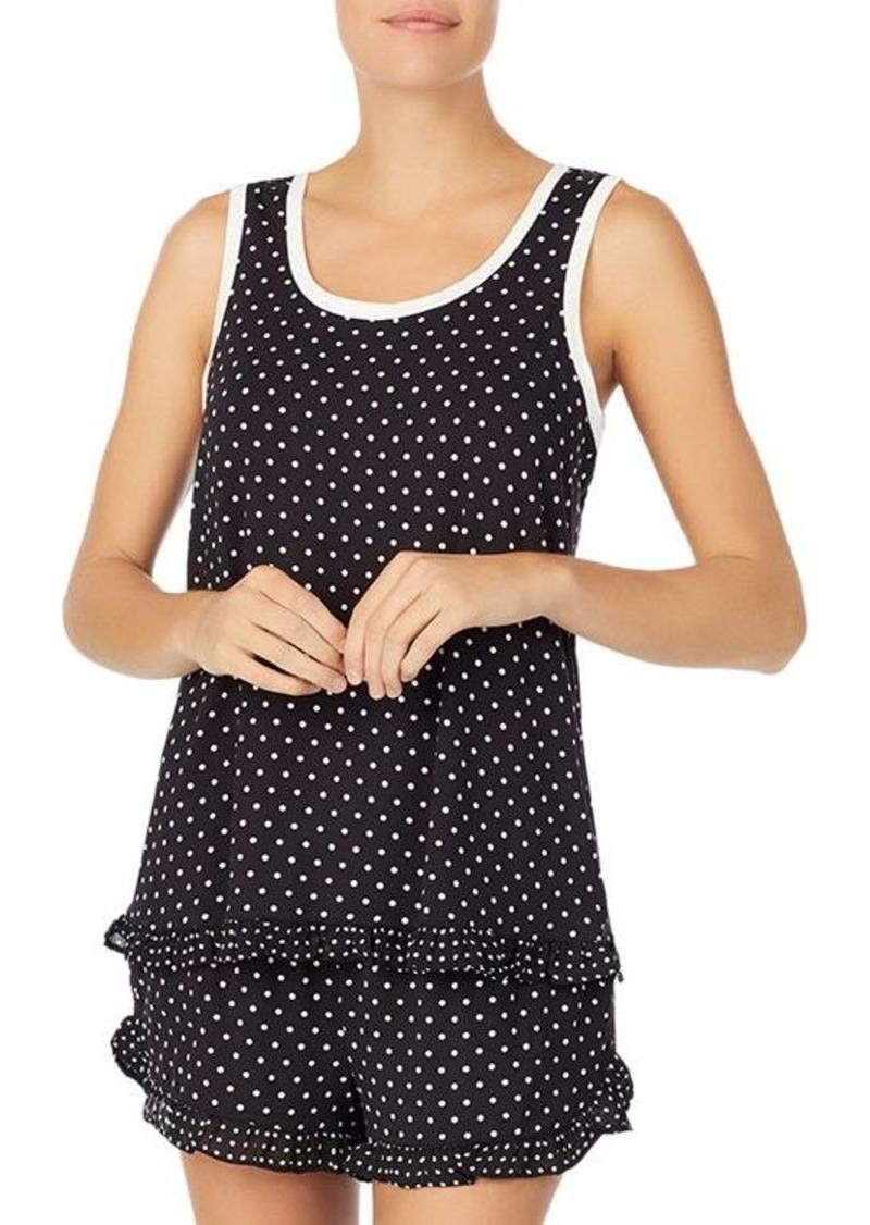 kate spade new york Dot Short Pajama Set