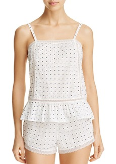 kate spade new york Dot Short PJ Set