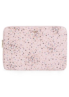 "kate spade new york dots 15"" laptop sleeve"