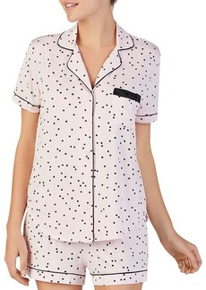 kate spade new york Dotted Short Pajama Set