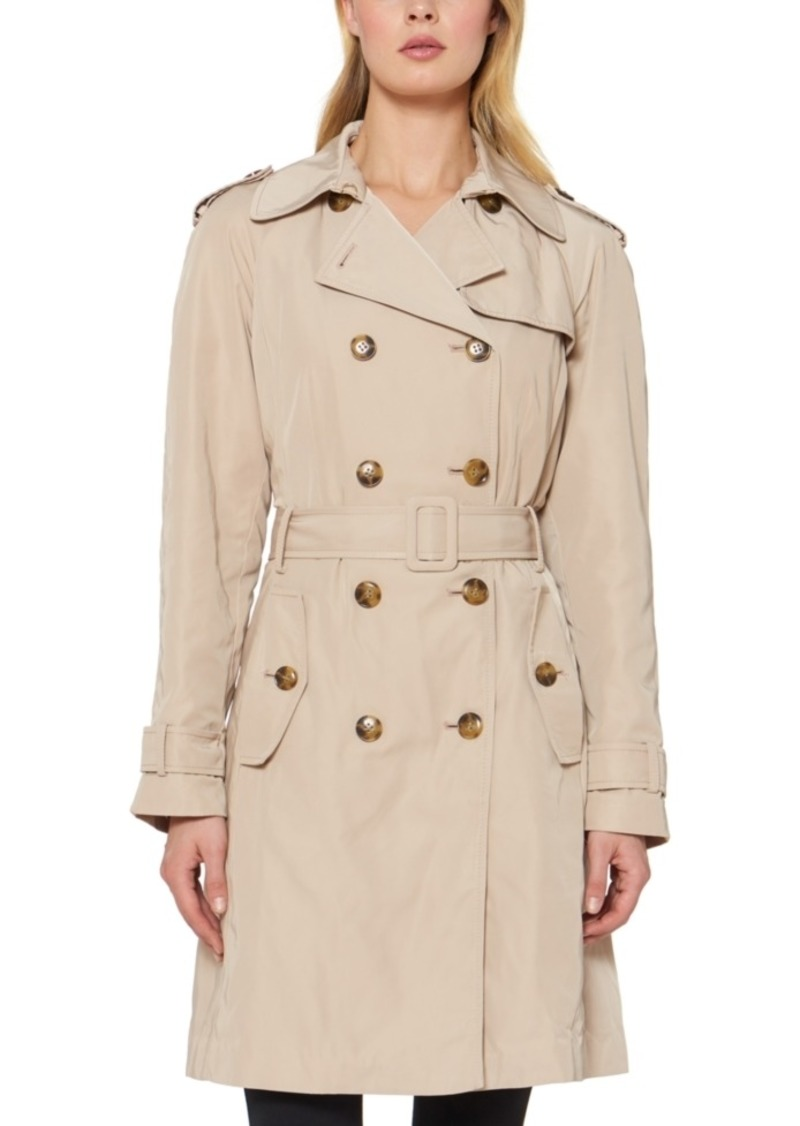 Kate Spade New York Double-Breasted Belted Trench Coat