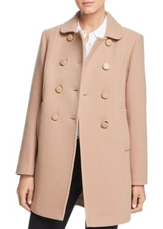kate spade new york Double-Breasted Button Front Coat