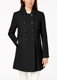 kate spade new york Double-Breasted Peacoat