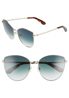 kate spade new york dulce 59mm cat eye sunglasses