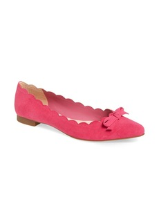 kate spade new york 'eleni' pointy toe ballet flat (Women)