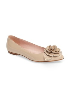 kate spade new york ellie pointy toe flat (Women)