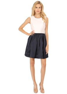 Kate Spade New York Embellished Fit and Flare Dress