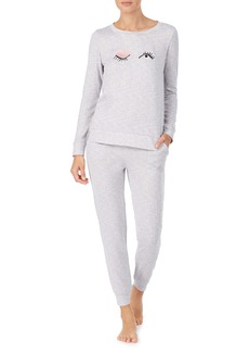 kate spade new york embroidered pajamas