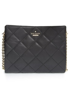kate spade new york 'emerson place - mini convertible phoebe' quilted leather shoulder bag