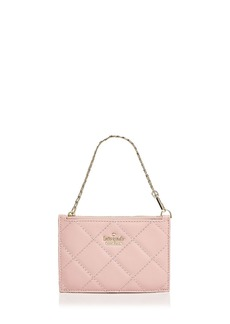 kate spade new york Emerson Place Caroline Quilted Leather Wristlet