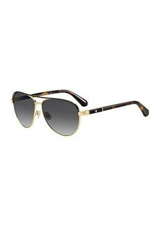 Kate Spade emilyann aviator sunglasses