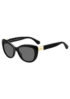 Kate Spade emmalynn cat-eye polarized sunglasses