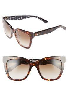 kate spade new york emmylou 51mm sunglasses