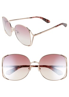 kate spade new york emyleegs 59mm square sunglasses