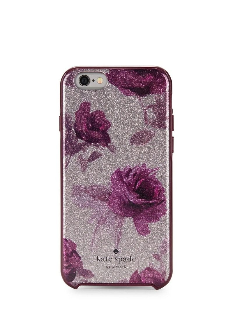 KATE SPADE NEW YORK Encore Rose iPhone 6 Case