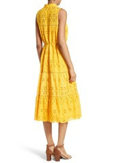 ... Kate Spade New York Eyelet Embroidered Patio Dress