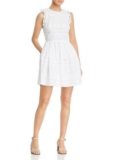kate spade new york Eyelet Lace Mini Dress