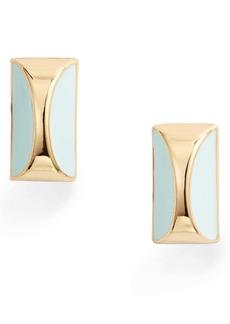 kate spade new york faceted stud earrings