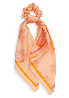 kate spade new york falling flower mini silk hair tie