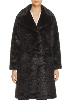 kate spade new york Faux Fur Coat