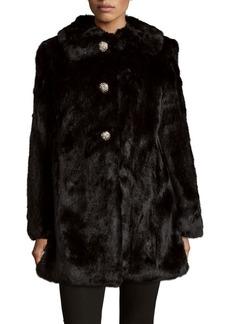 Kate Spade New York Faux Fur Coat