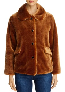 kate spade new york Faux Fur Short Coat