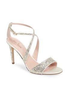 kate spade new york 'felicity' glitter sandal (Women)