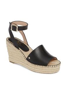 kate spade new york felipa wedge sandal (women)