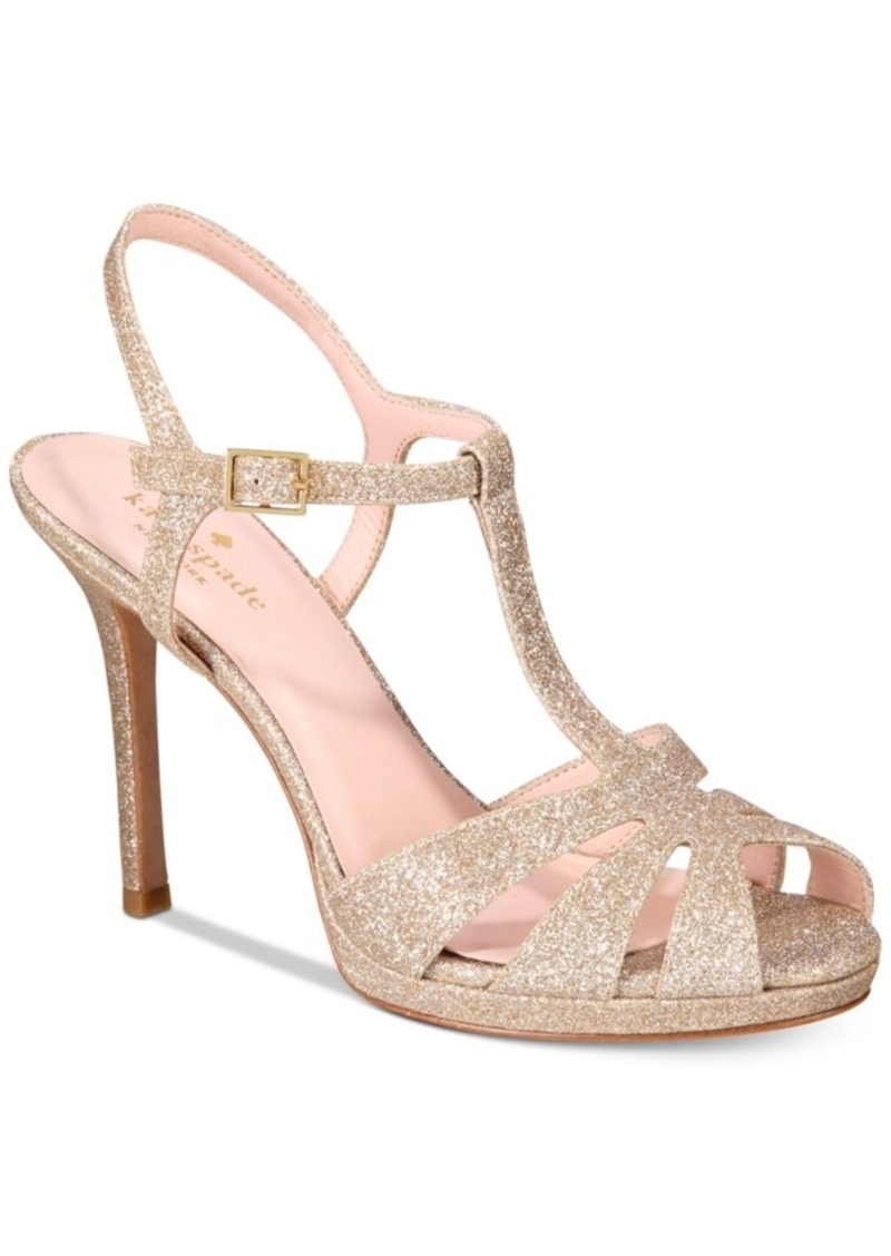 ebay cheap price Kate Spade New York Feodora Glitter Sandals for nice for sale discount many kinds of discount cheapest price footlocker VyzGlEJ5