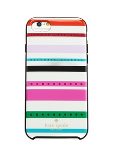 kate spade new york fiesta jeweled striped iphone 7 case
