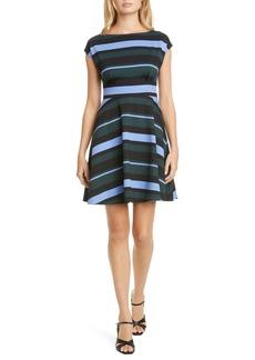 kate spade new york fiorella stripe dress