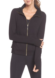 kate spade new york fleece lined jacket