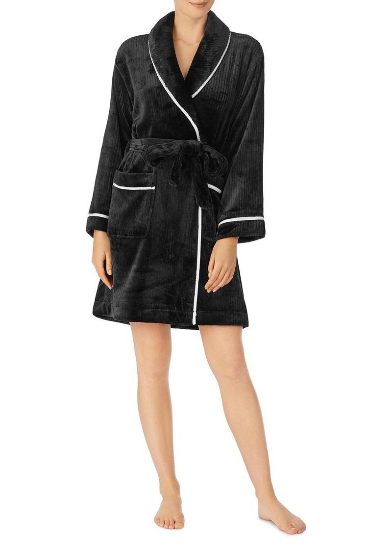 kate spade new york Fleece Short Robe