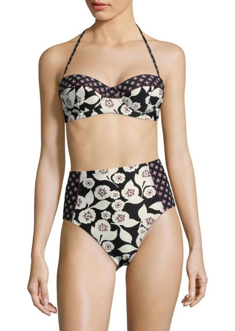 3051760c63e64 SALE! Kate Spade Kate Spade New York Floral Bikini Top