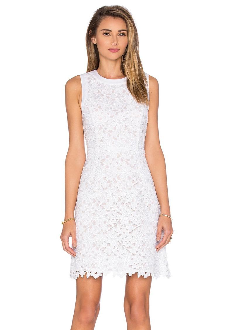 kate spade new york Floral Lace Mini Dress