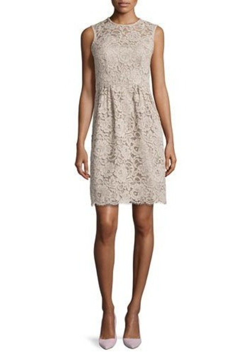 kate spade new york floral lace sheath dress