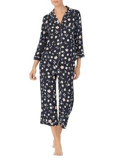 kate spade new york Floral-Print Classic Pajama Set