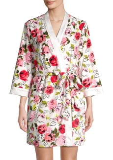 Kate Spade New York Floral-Print Robe