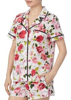 kate spade new york Floral Short PJ Set