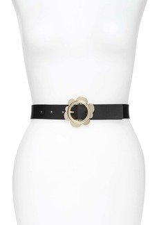 kate spade new york flower belt