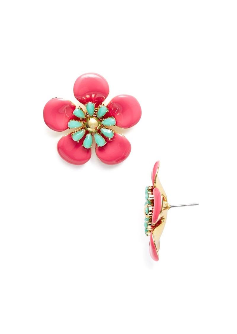 d10b6f888324cc Kate Spade kate spade new york Flower Stud Earrings - 100% Exclusive ...