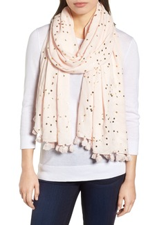 kate spade new york foil confetti dot scarf