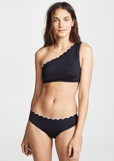 Kate Spade New York Fort Tilden One Shoulder Bikini Top