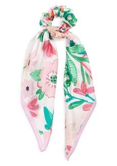 kate spade new york full bloom silk scarf hair tie